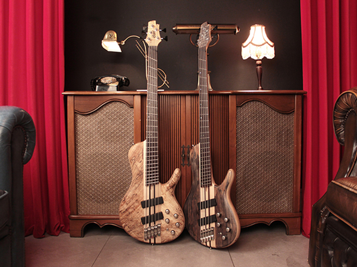 Cort releases top-of-the-line five-string bass