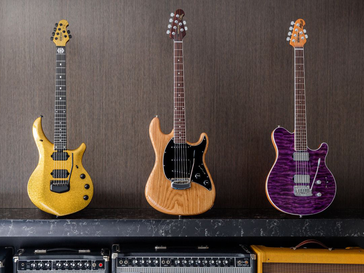 Ernie Ball Music Man Family Reserve March 2018