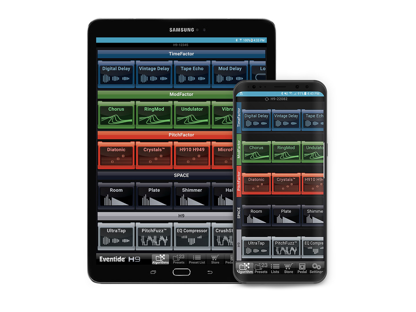 Eventide releases Android version of H9 Control app
