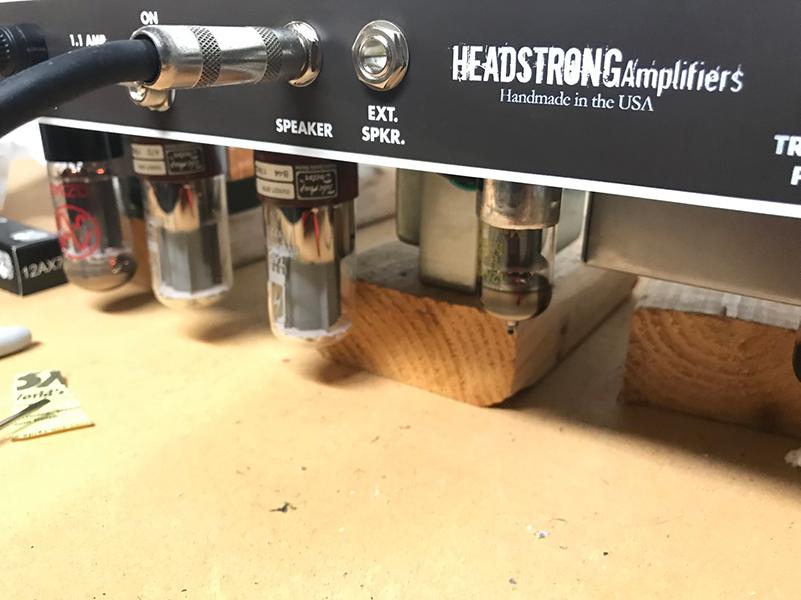 Corduroy Amp tubes