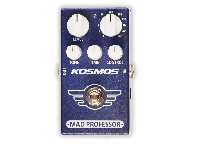Mad Professor's new pedal lets you choose from 11 reverb types