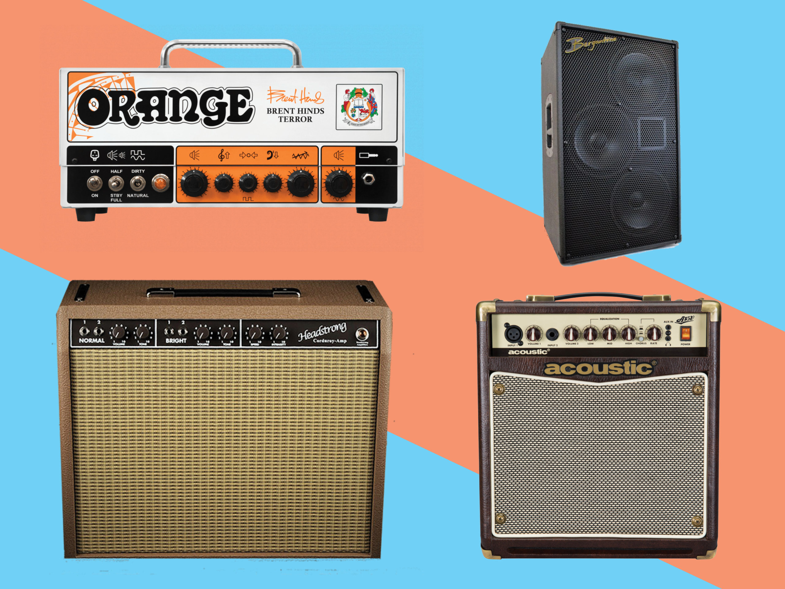 Five new electric guitar amplifiers for April 2018