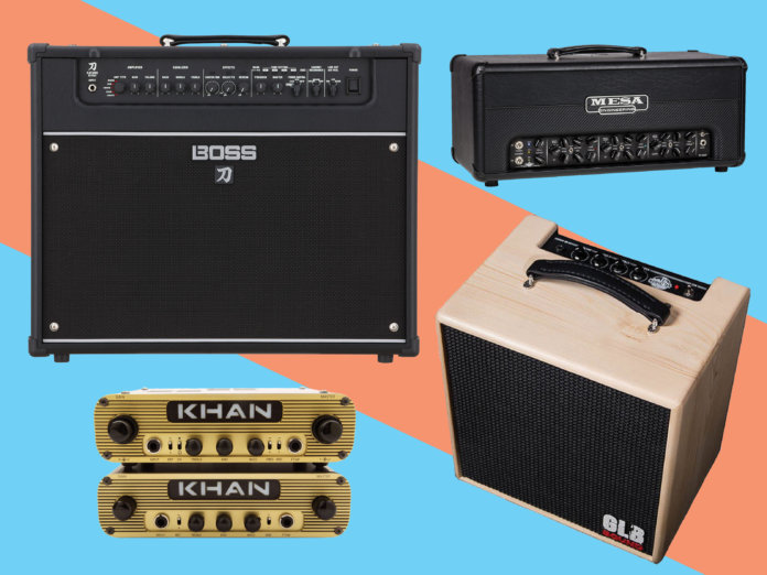 New guitar amplifiers March 2018