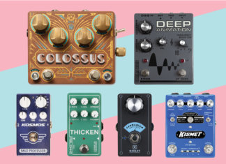 New Pedals Effects April 2018
