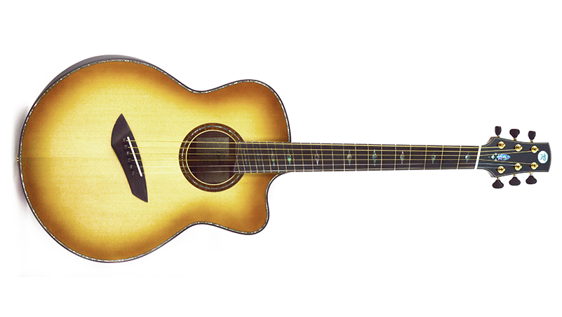 Tim Reede Guitars unveils new multi-scale acoustic