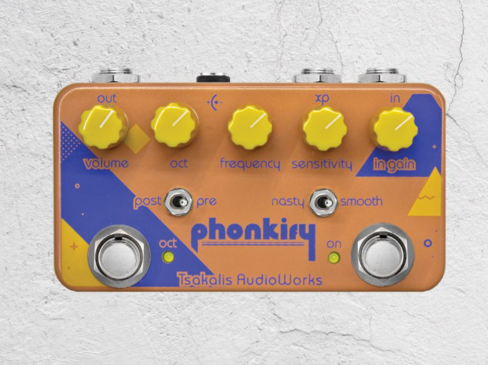Tsakalis Audioworks releases new Phonkify and Galactic pedals