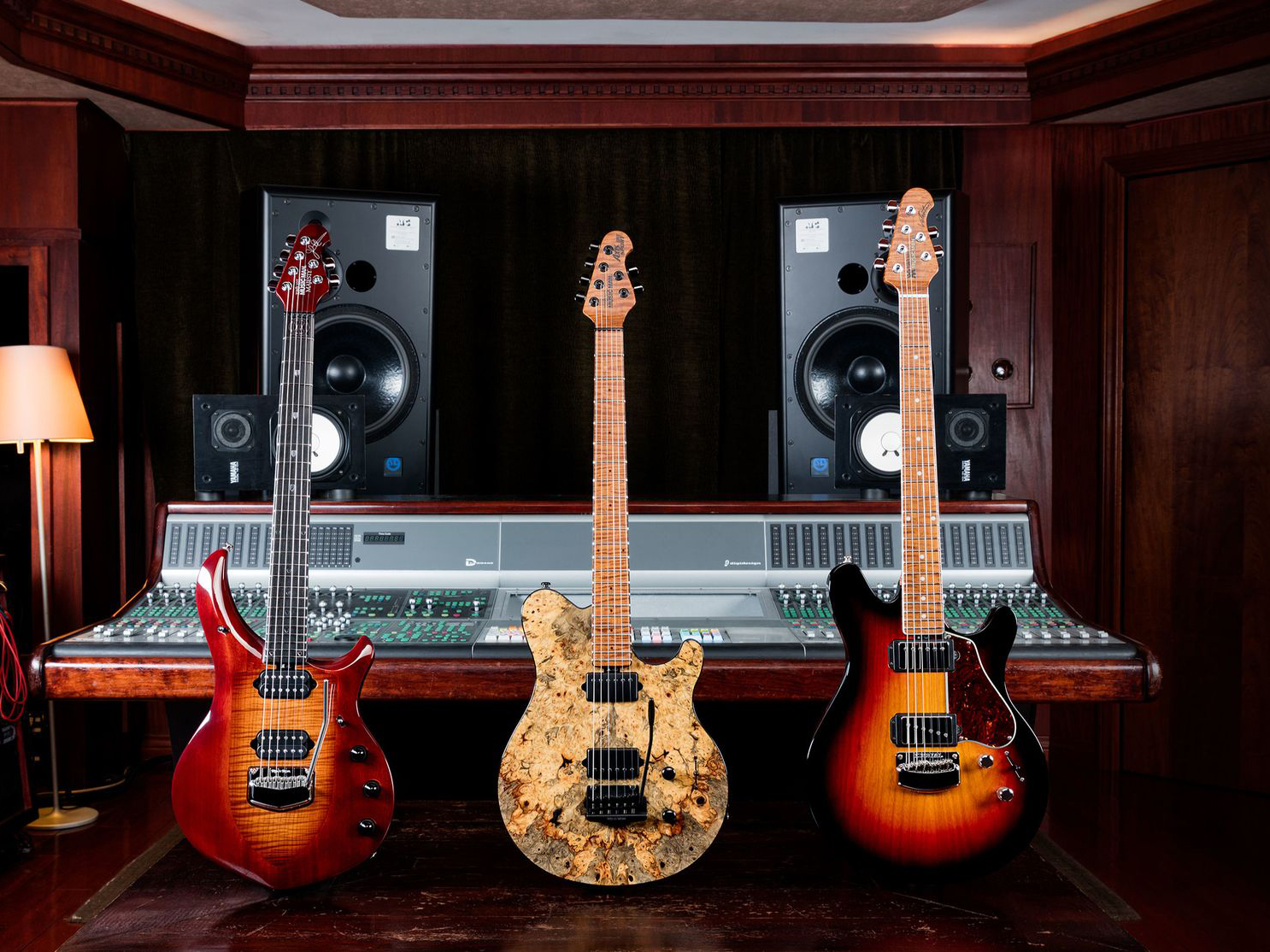 Ernie Ball Music Man announces Ball Family Reserve April collection