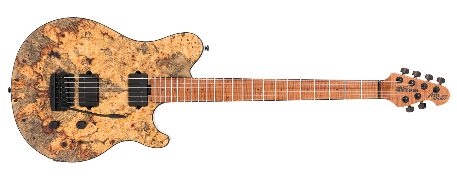 Ernie Ball Music Man Axis Super Sport Buckeye Burl