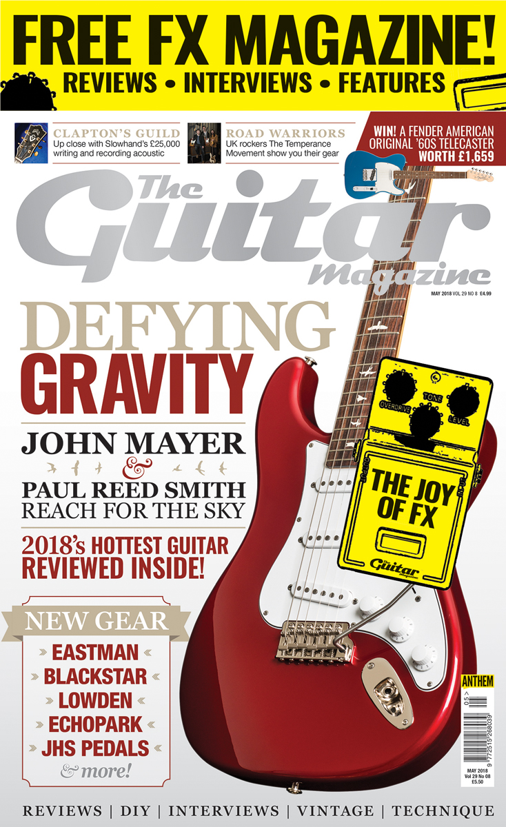 The May Issue Of The Guitar Magazine Is On Sale Now The