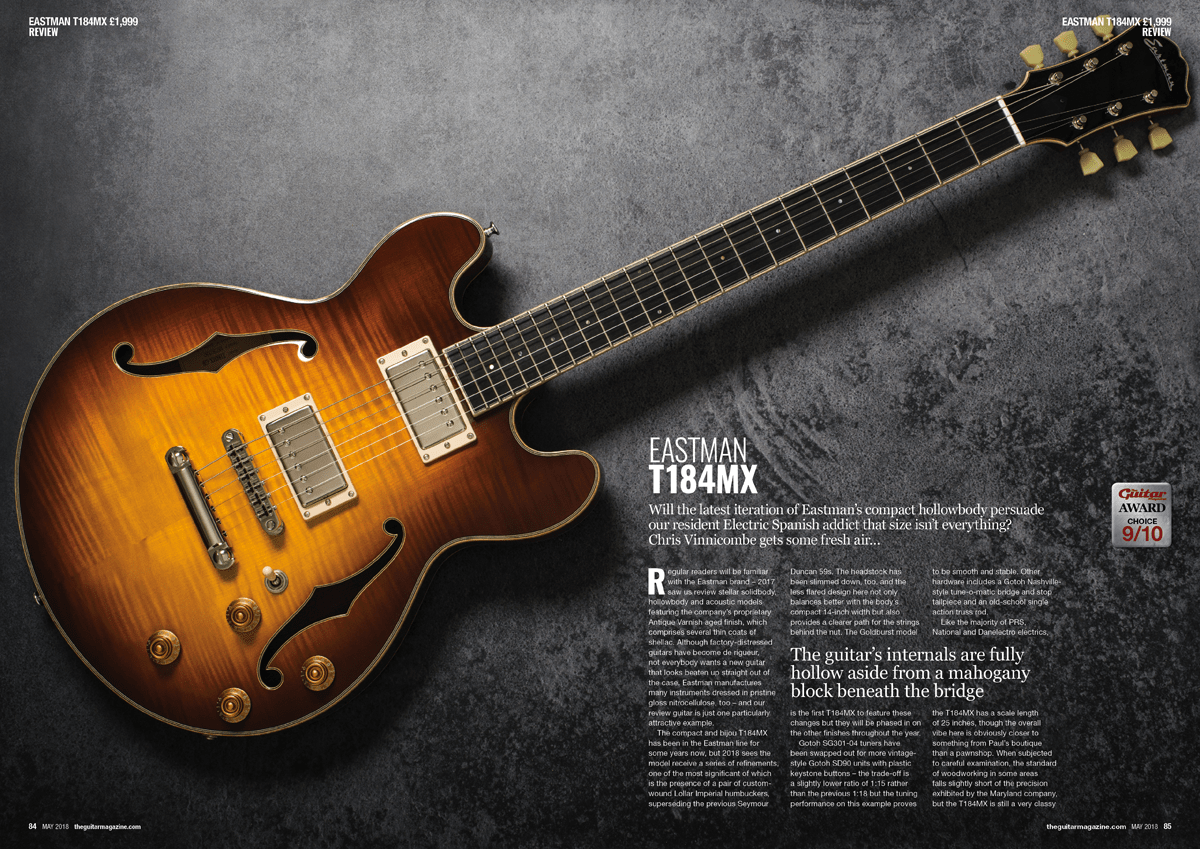 The May issue of The Guitar Magazine is on sale now!