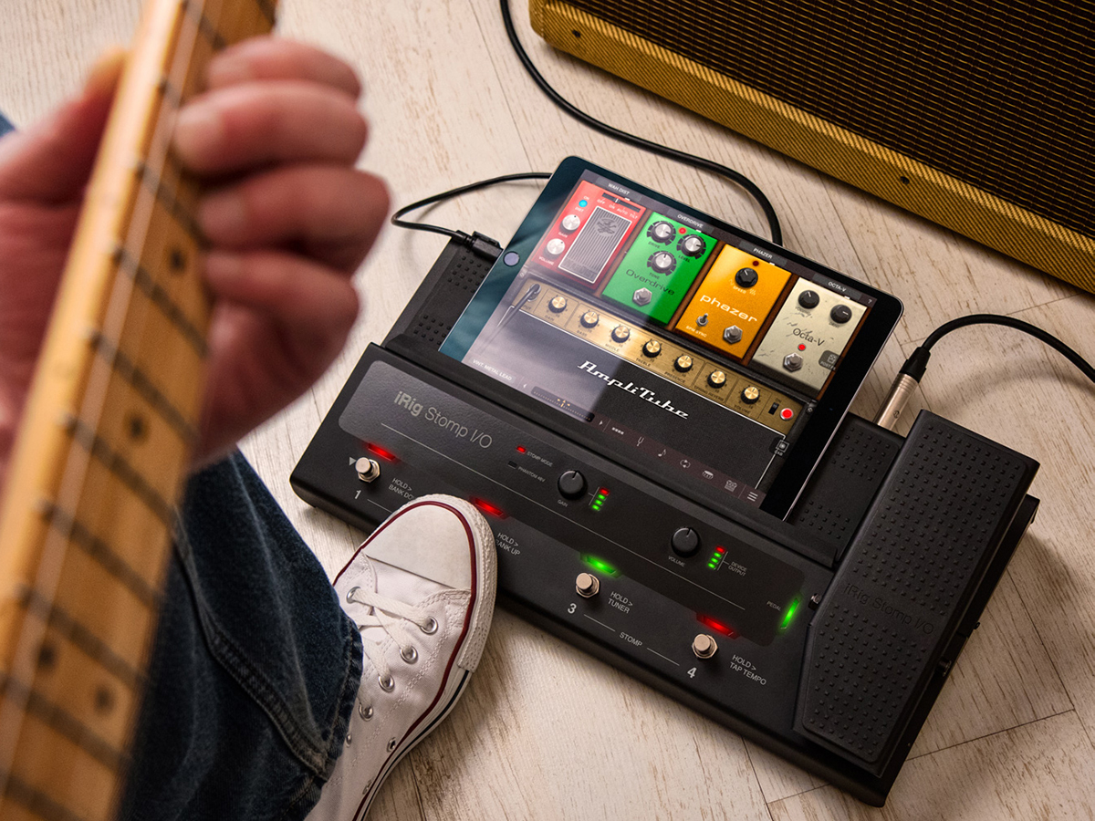 IK Multimedia's new device turns your iPad into a pedalboard