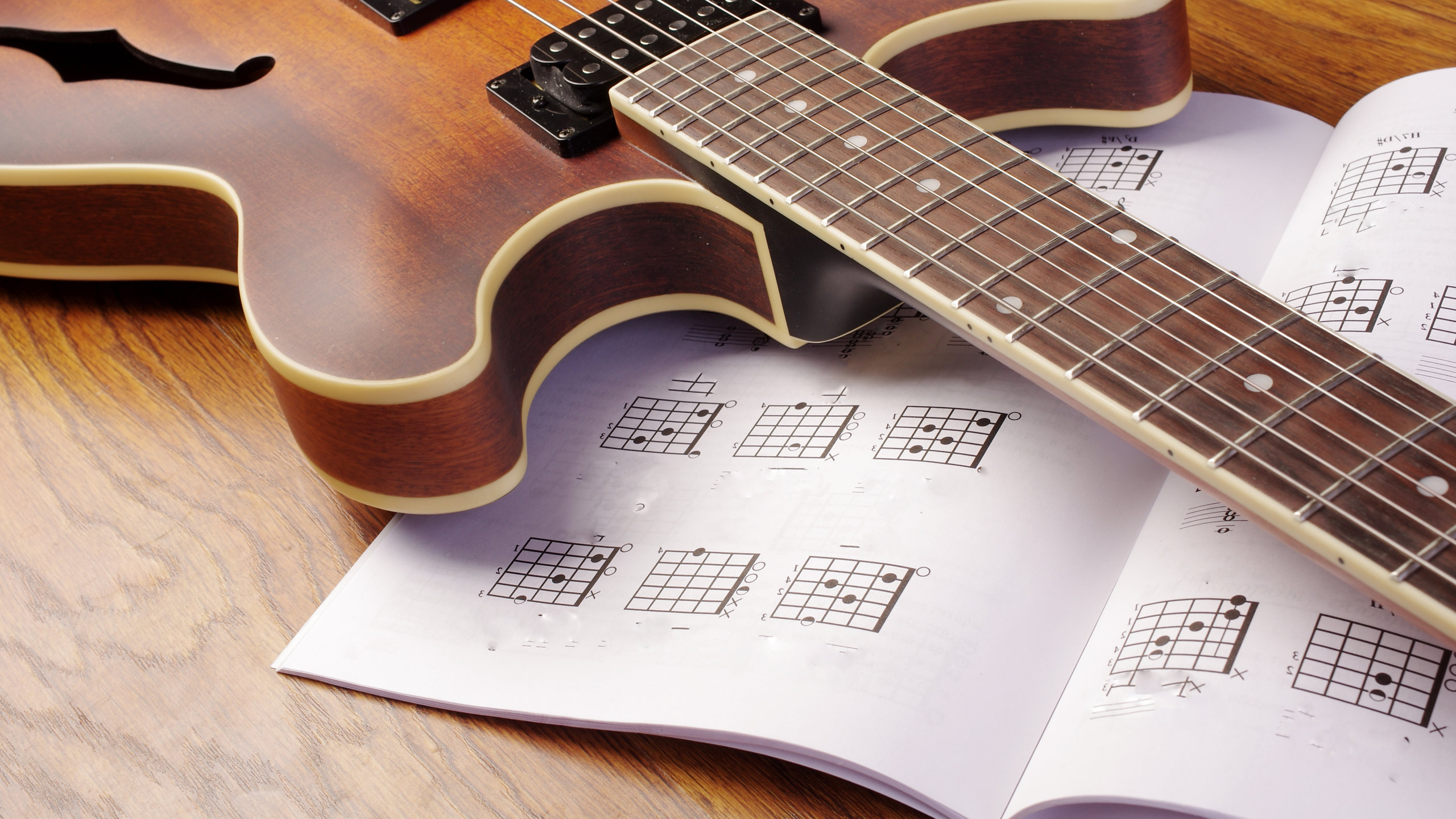 Music Composition for Beginners 1: Major, minor and power chords Part 1