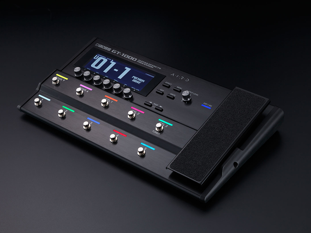 Boss releases the GT-1000 guitar effects processor