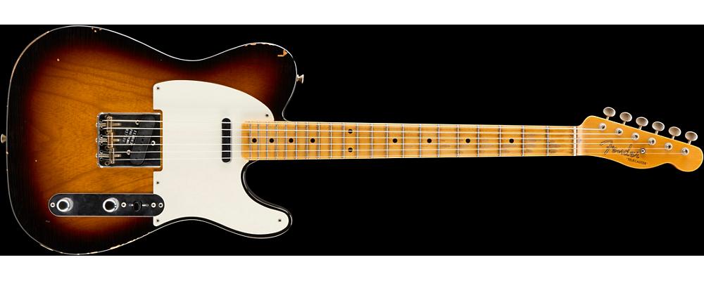 Fender, Guitar Center, Joe Bonamassa collab on two