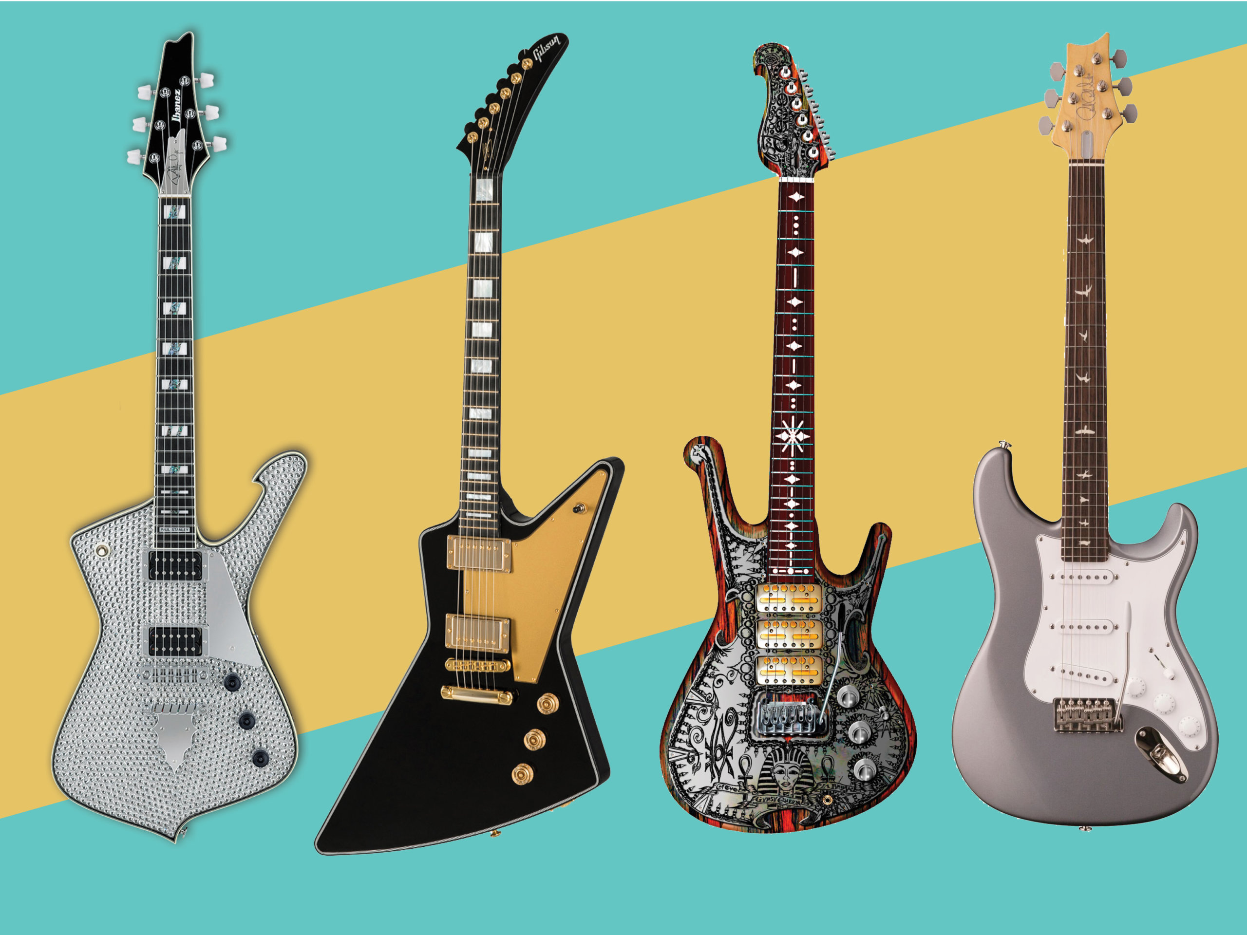 12 new electric and acoustic guitars for April 2018