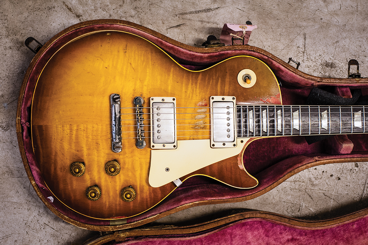 The Ultimate Guide To Vintage Les Paul Tone Guitar Magazine Control Wiring Diagrams On Schematic Diagram Maker Here Huw Price Attempts Find Out Precisely What Makes Golden Era Pauls Tick And Explains How You Too Can Taste Fantastic Without Breaking