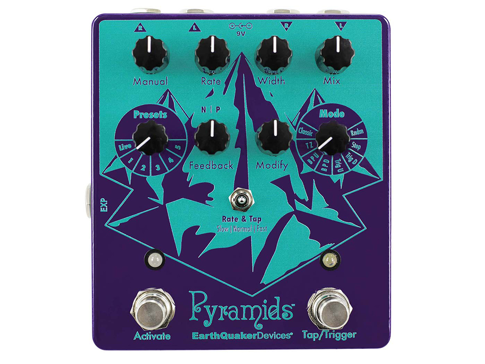 EarthQuaker Devices unveils the Pyramids flanger