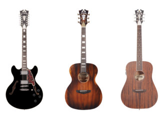 D'angelico Premier Series DC 12-string, Tammany and Niagara