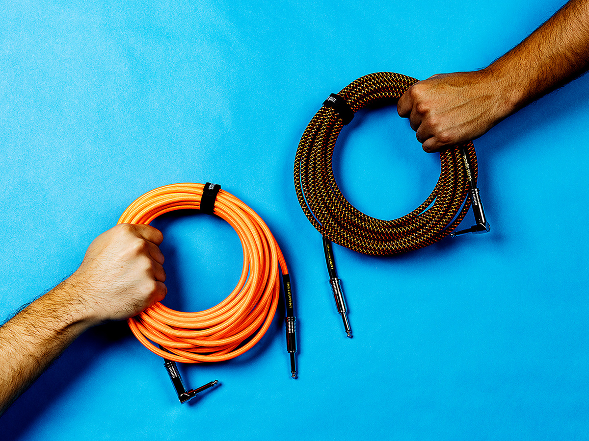 Ernie Ball braided instrument cables