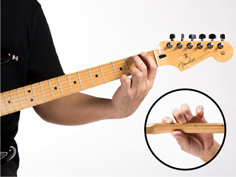 Guitar technique finger strengthening exercise