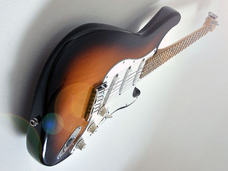 Want your precious guitar to float over your wall?