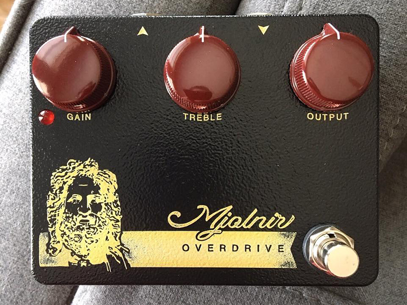 Mythos Pedals launches new edition of the Mjolnir overdrive