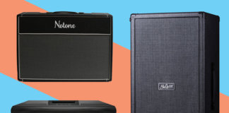 New electric guitar amplifiers amps June 2018