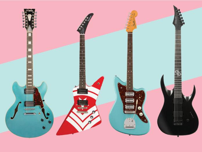New electric acoustic guitars June 2018