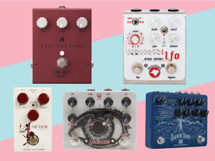 New pedals effects May 2018