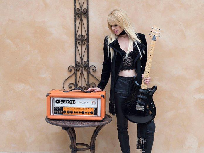 Orianthi Orange Amps