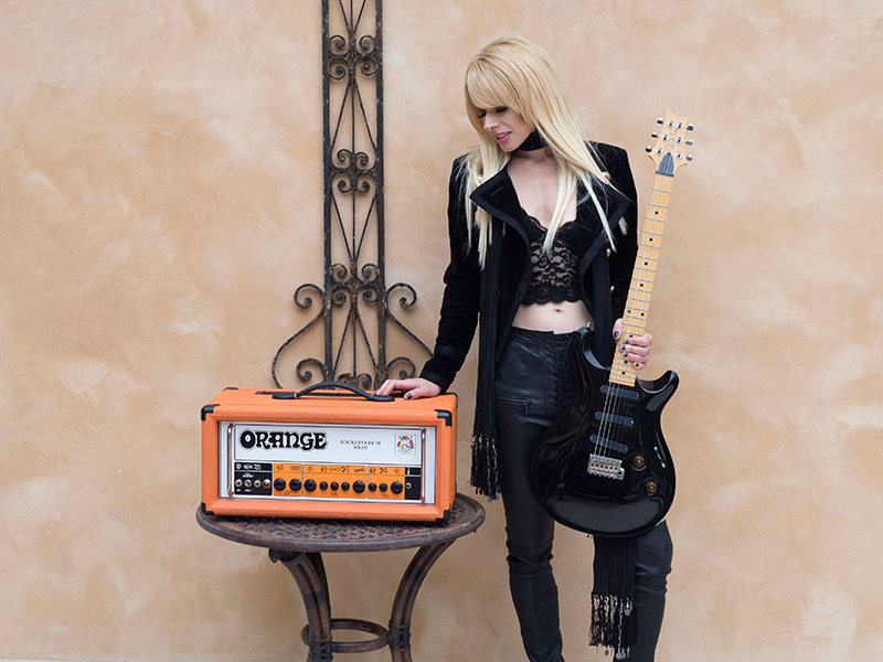 Orianthi Orange Amps