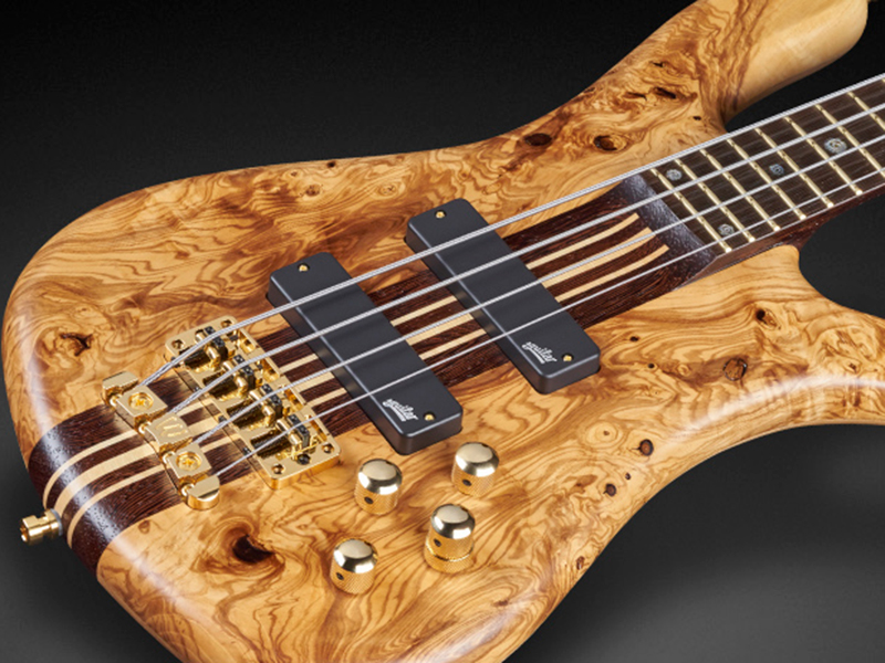 Feast your eyes on these two new Warwick basses