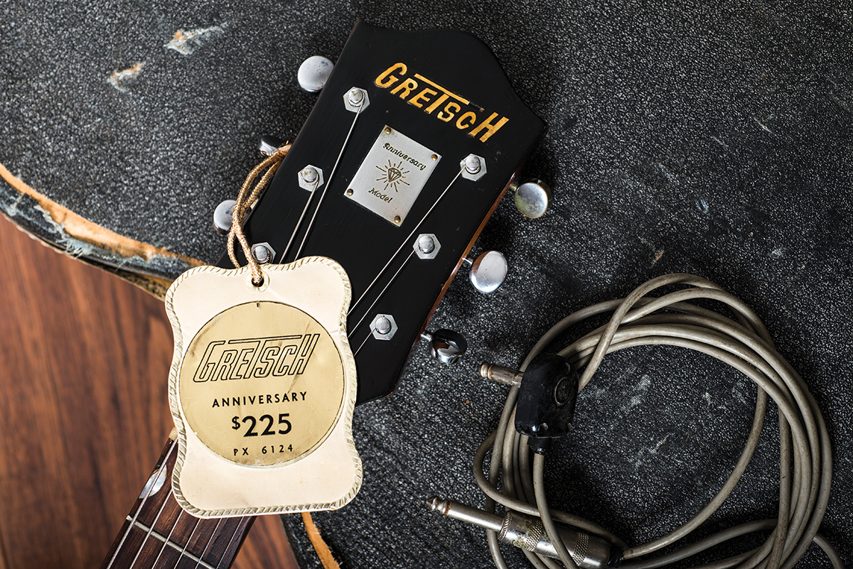 Diy Workshop Fender Tweed Pro Restoration The Guitar Magazine Wiring On Cone Bass Woofers Wired In Series Parallel History Of Gretsch Anniversary Models As Guitars