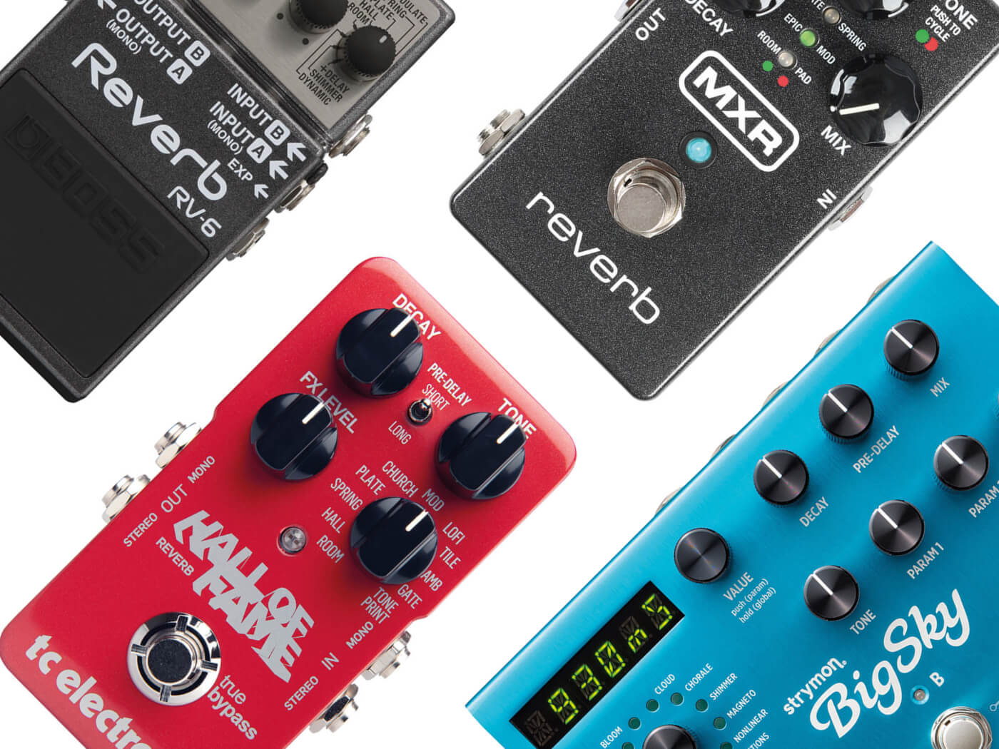 16 best reverb pedals to buy in 2019 all things guitar. Black Bedroom Furniture Sets. Home Design Ideas