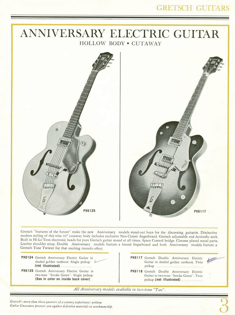 gretsch advertisement vintage