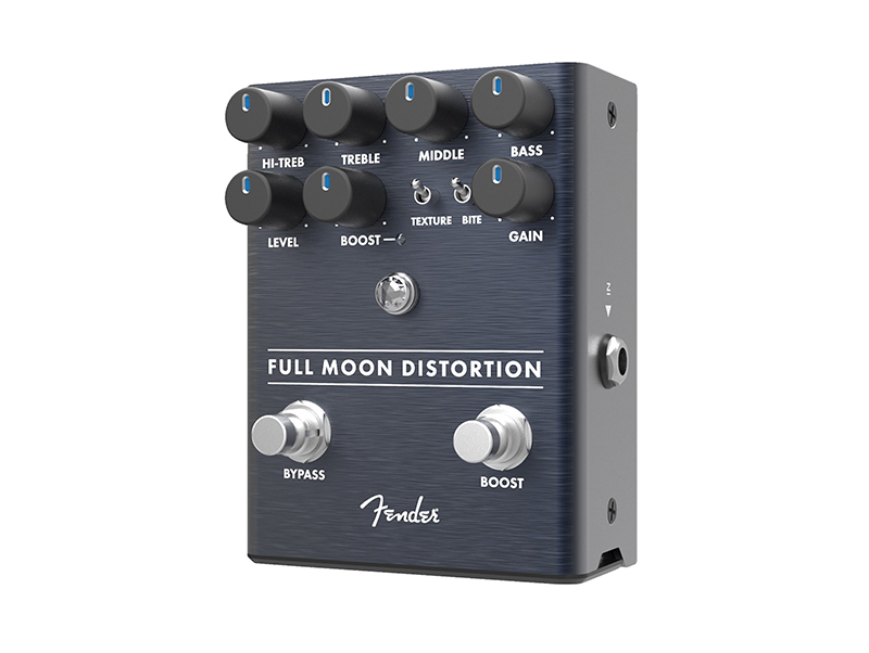 Fender announces three new gain pedals