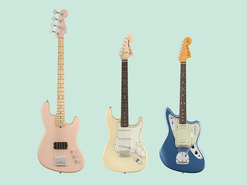 Flea and Albert Hammond Jr get new Fenders