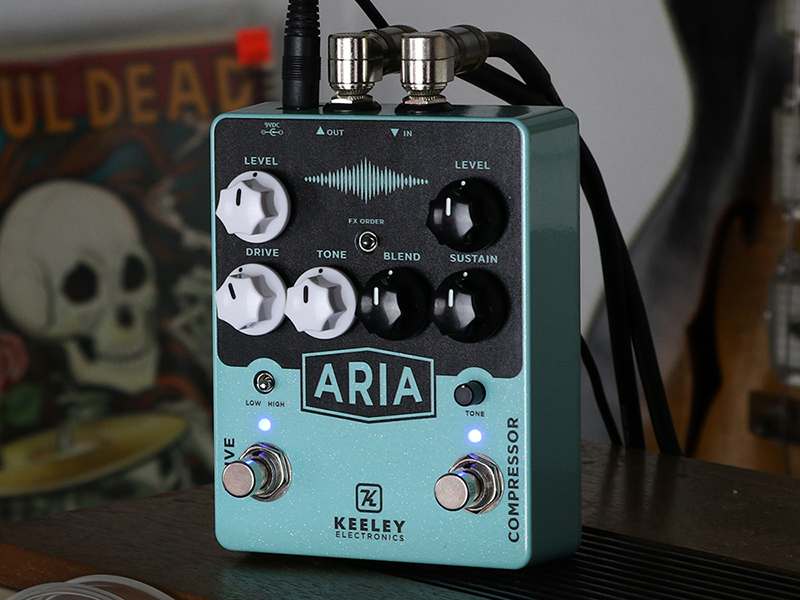 Keeley combines renowned compressor and overdrive into one pedal