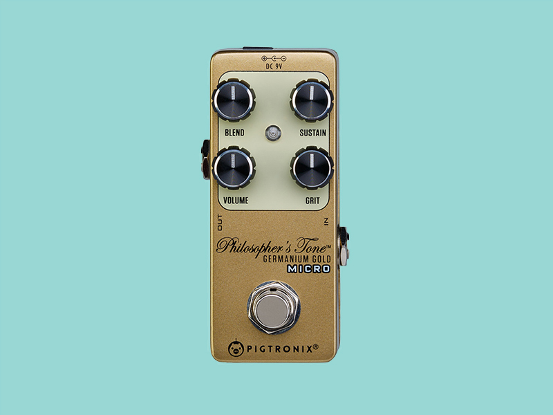 Pigtronix updates Philosopher's Tone compressor