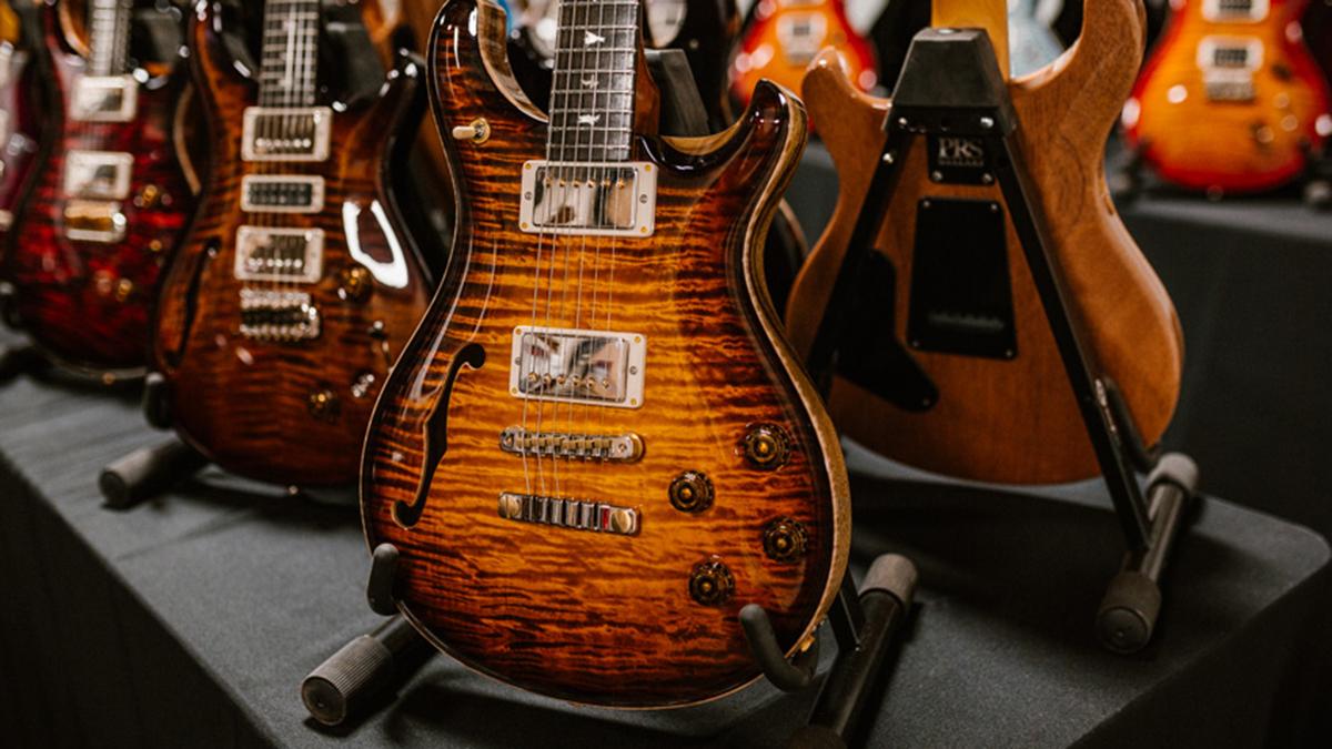 PRS unveils five limited-edition guitars