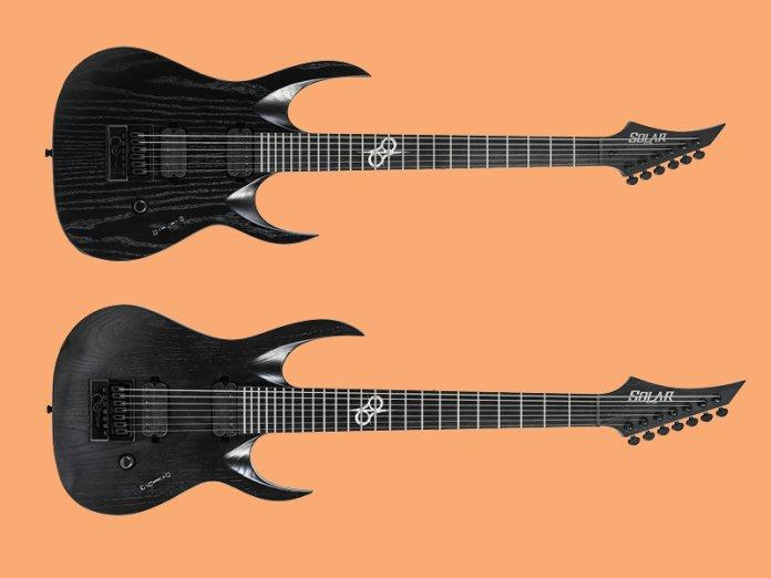 Solar Guitars A1.6 A1.7 Artist LTD BOP