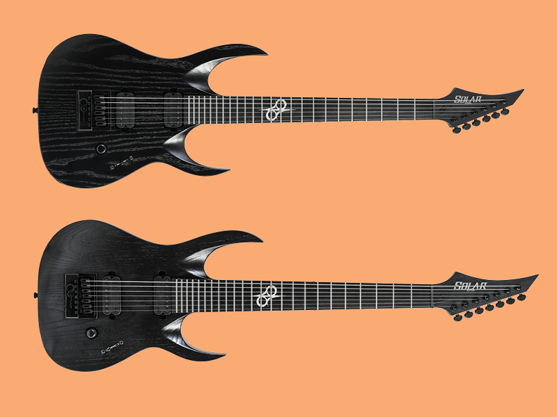 solar guitars launches new six and seven string models all things guitar. Black Bedroom Furniture Sets. Home Design Ideas