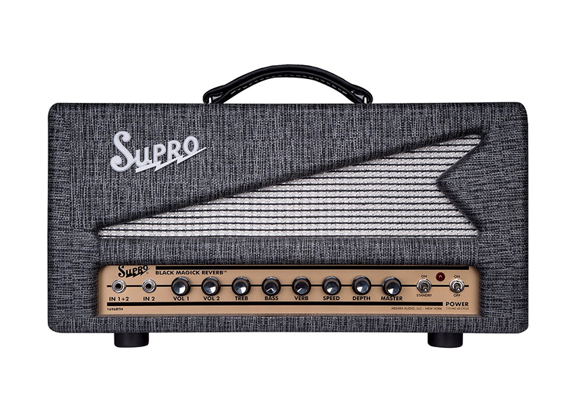Supro's new amp sounds as good as it looks