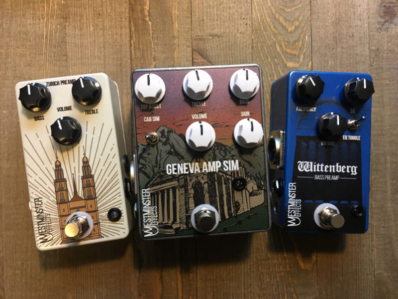 westminster effects launches three di preamp pedals. Black Bedroom Furniture Sets. Home Design Ideas