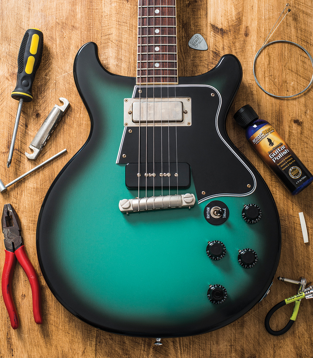 we know, we know… you'd rather play your guitar than spend time fixing it  up  but if you want it to play well, and if you want to be able to rely