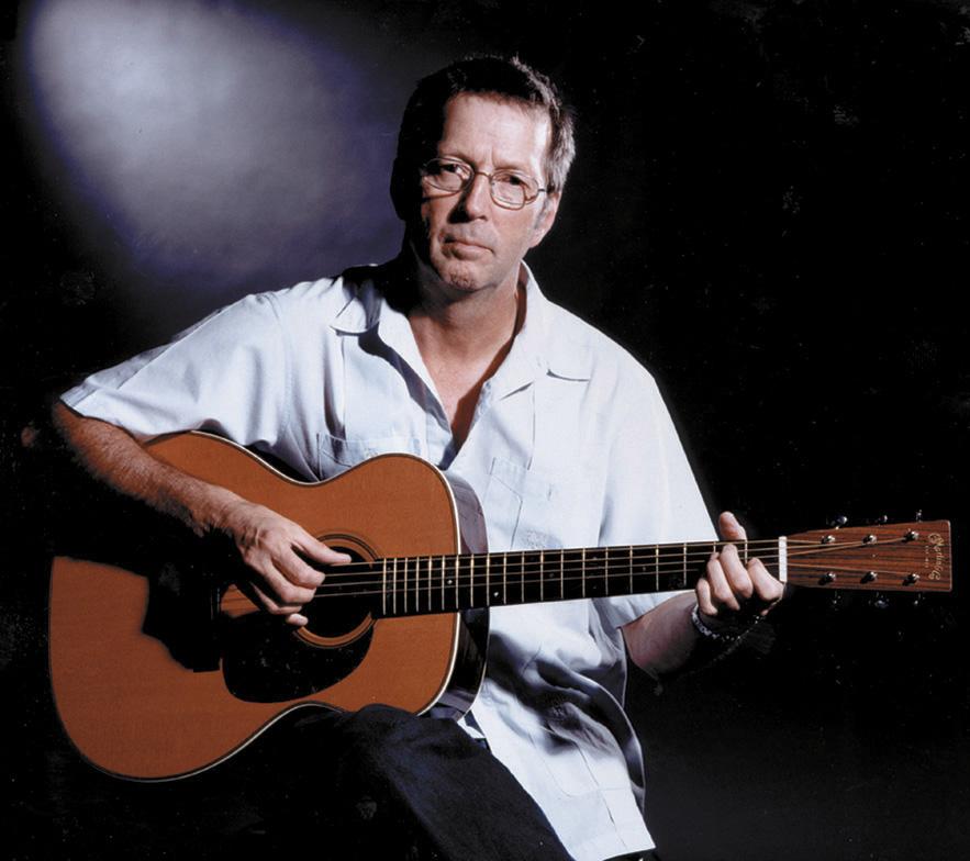 eric clapton martin acoustic guitar