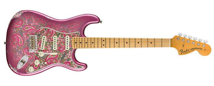Fender Custom Shop '68 Paisley Strat Relic Pink