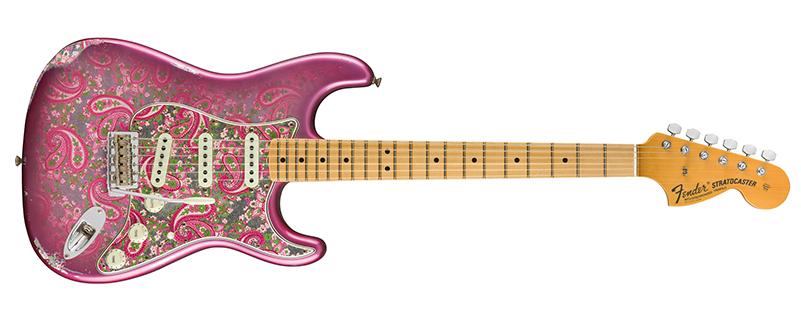 Fender Custom Shop '68 Paisley Strat Relic Pink