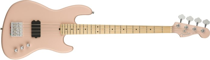 Fender Flea Active Jazz Bass - Satin Shell Pink