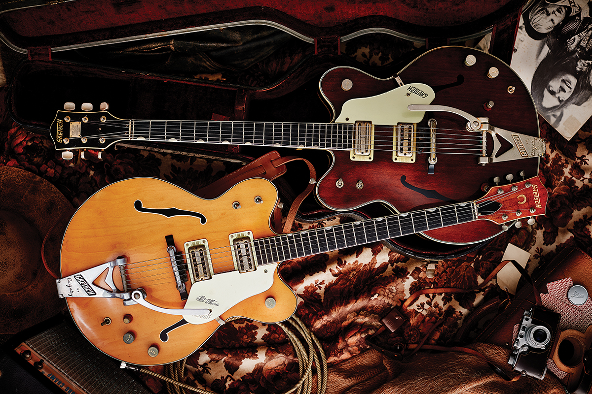 Mid-60s Gretsch 6120 and 6122